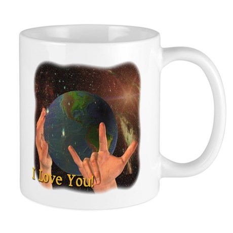 I Love You - God Mug
