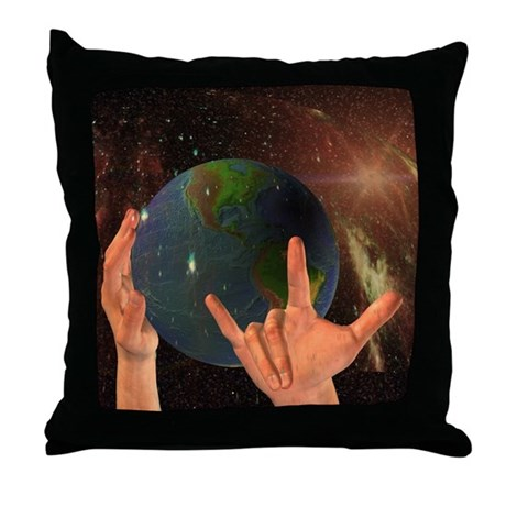 "Throw Pillow - God ""I Love You"""