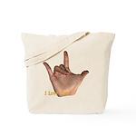 I Love You - Hand Tote Bag