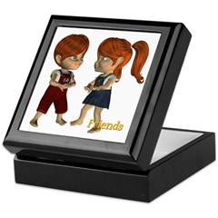 Keepsake Box - Kit and Kevin Friends