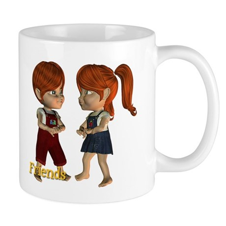 Friends - Kit & Kevin Mug