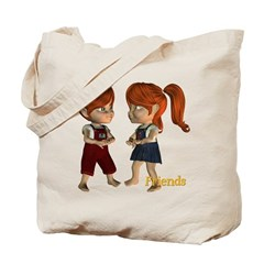 Friends - Kit & Kevin Tote Bag