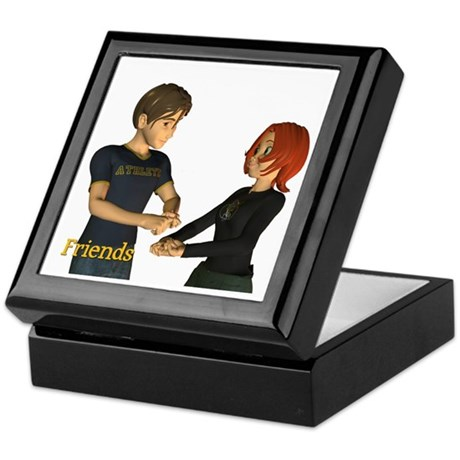 Keepsake Box - Jimmy and Jan - Friends
