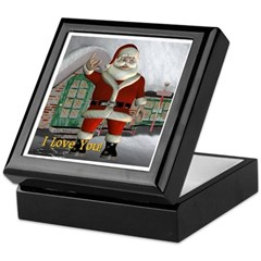 Keepsake Box- Santa I Love You