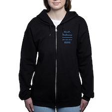 R.I.P. McDREAMY Women's Zip Hoodie