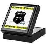 Police Crime Scene Keepsake Box