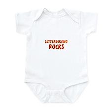Letterboxing Rocks Infant Bodysuit