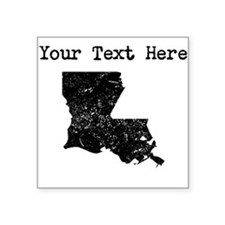 Louisiana Silhouette (Custom) Sticker