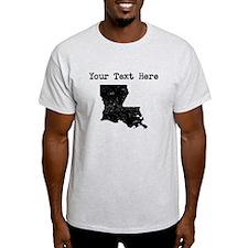 Louisiana Silhouette (Custom) T-Shirt