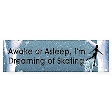 Dreaming of Skating Bumper Sticker