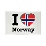 I love Norway Rectangle Magnet (10 pack)
