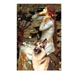 Ophelia / G-Shep Postcards (Package of 8)