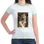 Ophelia / G-Shep Jr. Ringer T-Shirt