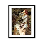 Ophelia / G-Shep Framed Panel Print
