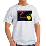 Meteor Lemons Ash Grey T-Shirt