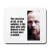 Dostoevsky &quot;Cleverest&quot; Mousepad