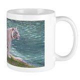 White Tiger Small Mug