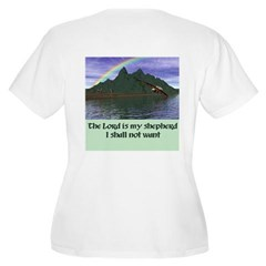 The Lord - Women's Plus Size Scoop Neck T-Shirt