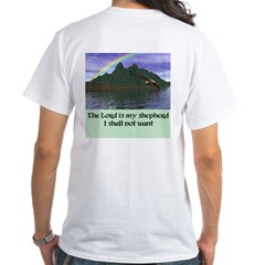 The Lord is My Shepherd - White T-Shirt