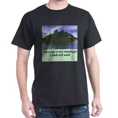 The Lord is My Shepherd - Dark T-Shirt