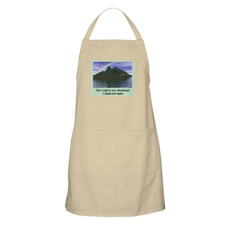 The Lord is My Shepherd - BBQ Apron