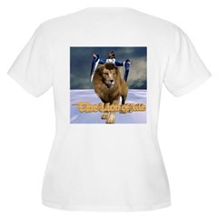 Lion of Judah Women's Plus Size Scoop Neck T-Shirt