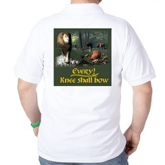 Every Knee Shall Bow - Golf Shirt