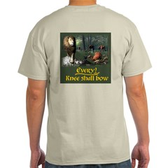 Every Knee Shall Bow Version 1 - Light T-Shirt