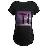 Crossroads - Maternity Dark T-Shirt