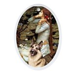 Ophelia / G-Shep Ornament (Oval)