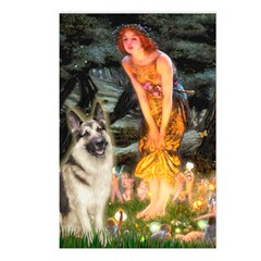 Fairies / G-Shep Postcards (Package of 8)