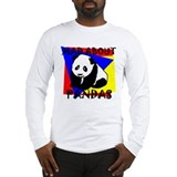 MAD ABOUT PANDAS Long Sleeve T-Shirt