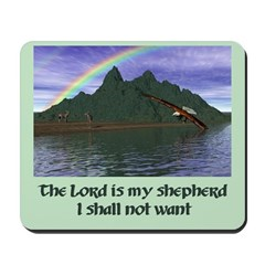 Lord is My Shepherd Version 1 - Mousepad