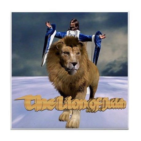 Lion of Judah - Tile Coaster