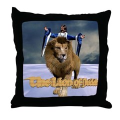 Lion Of Judah - Throw Pillow