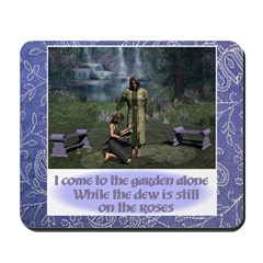 In the Garden Version 1 - Mousepad