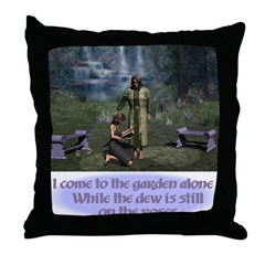 In The Garden - Throw Pillow