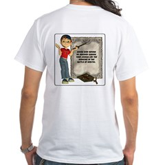 Dennis Quotes (Moses 01) - White T-Shirt