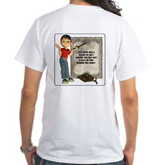 Dennis Quotes (Lot's Wife) - White T-Shirt
