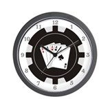 Poker chips Basic Clocks