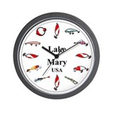 Lake Mary Clocks Wall Clock