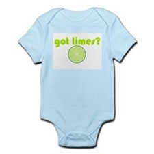 got limes? Infant Bodysuit