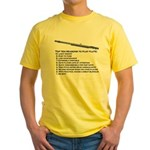Flute Top 10 Yellow T-Shirt