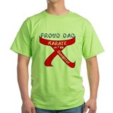 Proud Karate Dad Daughter T-Shirt
