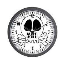 Skull or Skeleton Wall Clock