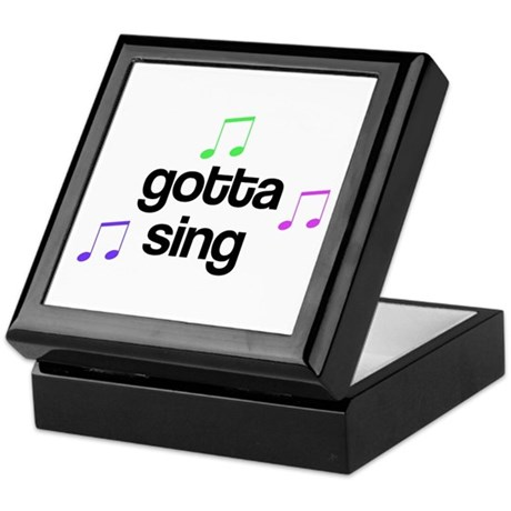 Gotta Sing Choir Keepsake Box