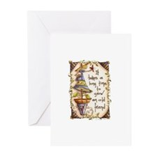IT TAKES A LONG TIME TO.... Greeting Cards (Pk of