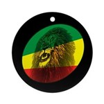 Reggae Lion Ornament (Round)