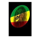 Reggae Lion Postcards (Package of 8)