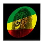 Reggae Lion Tile Coaster